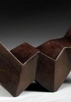 "Sculpture #1 - 10""x4""x5""h - $1400. - SOLD"