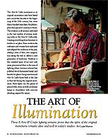 Old House Journal Art of Illumination
